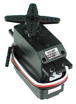 Servo motor sm s4306r 360 degree for Servo motor specifications pdf